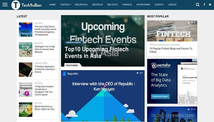 TechBullion Website